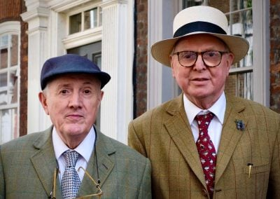 Brick Lane Gilbert and George - Gerry