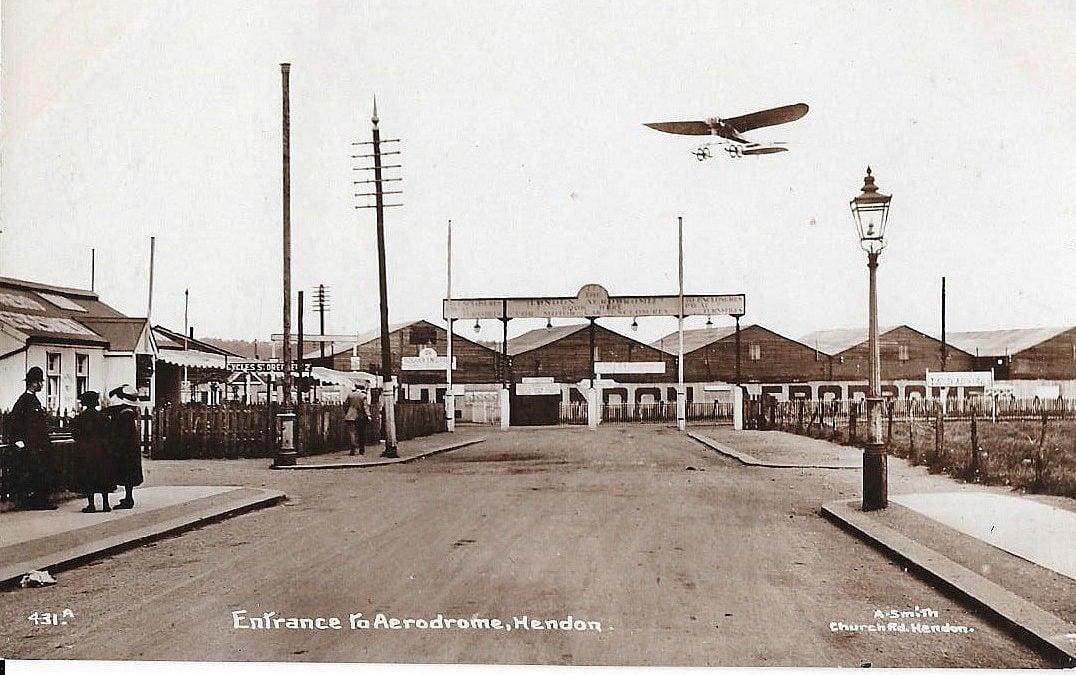 "Lester Hillman speaks on ""North London's Aviation Heritage"""