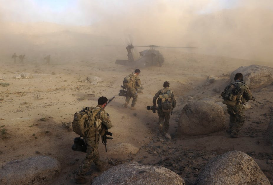 """Peter Hanington speaks on """"Conflicts in Afghanistan, Egypt and Hong Kong"""""""