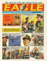 "Lester Hillman speaks on ""Dan Dare at 70"" (Zoom)"