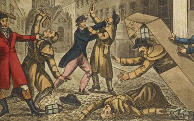 """David Allen speaks on """"Blood, Guts and Gore: Murder in Victorian England"""" (Zoom)"""